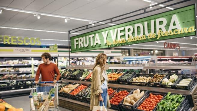Imagen de un supermercado.