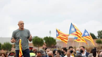 "Raül Romeva dice al salir de la cárcel que la independencia es ""irreversible"""