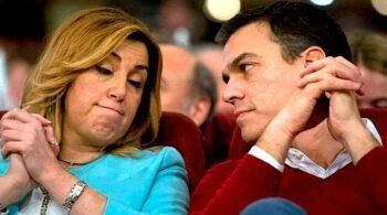 Moncloa y Ferraz quieren que Susana Díaz dimita como líder del PSOE-A si pierde las primarias