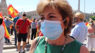 """Conchita Martínez, víctima de ETA, en Colón: """"Lo que hemos sufrido para ver esto. Es indigno"""""""