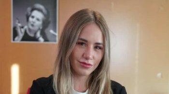"""Noelia Núñez (PP): """"La izquierda me llamó 'terrorista' por tener un cuadro de Thatcher en el despacho"""""""