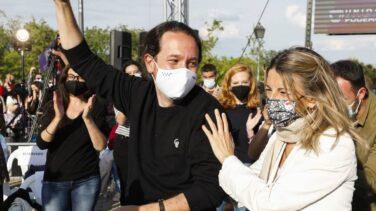Yolanda Díaz se salta la Asamblea de Podemos por una cumbre en Luxemburgo el lunes