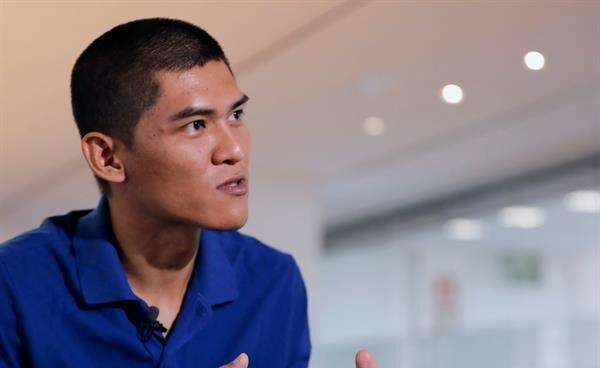El periodista birmano Mratt Kyaw Thu, recién llegado a España.