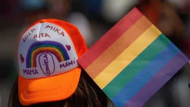 Una madre de una familia LGBTI, en Barcelona.