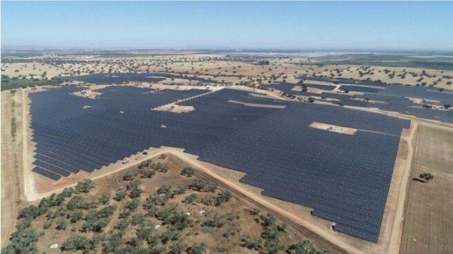 Planta de energía solar en España propiedad de Solarpack