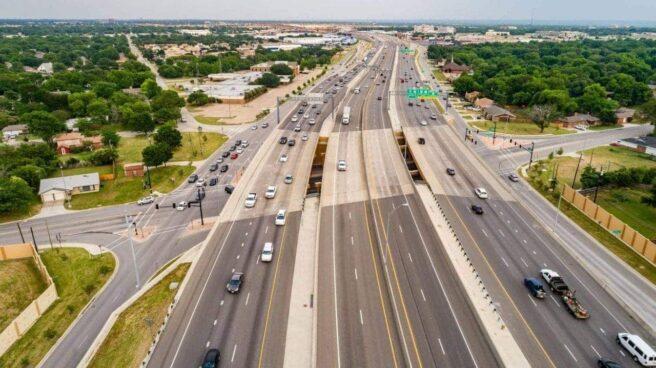 Una autopista de Ferrovial en Dallas (Estados Unidos).