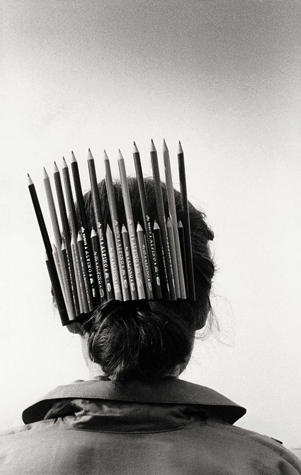 Autorretrato con peineta,1980
