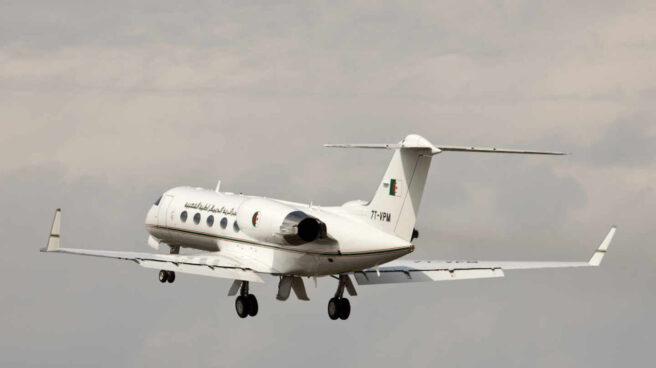 Avión matriculado como 7T-VPM propiedad del gobierno de Argelia.
