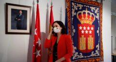 La presidenta de la Comunidad de Madrid en funciones, Isabel Díaz Ayuso.