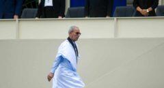 El presidente de Argelia visita a Brahim Ghali en el hospital