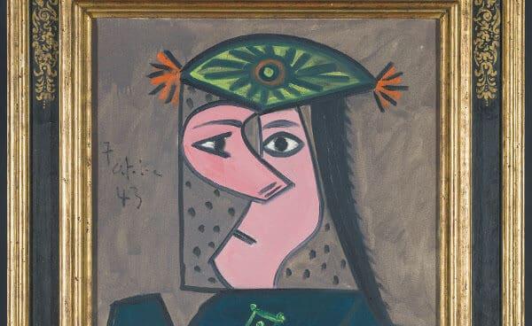 Buste de femme 43, (Pablo Picasso,1943)