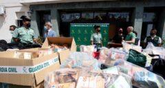 La Guardia Civil detiene a 28 personas de una red de narcotráfico en el puerto de Algeciras