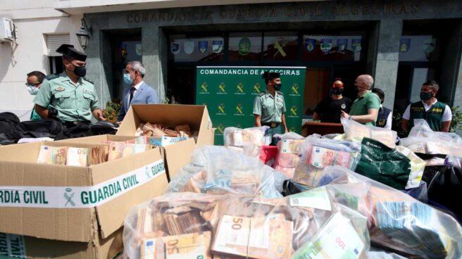 Operación contra el narcotráfico en Algeciras.