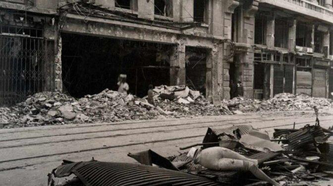 Las cicatrices invisibles del Madrid bombardeado durante la Guerra Civil