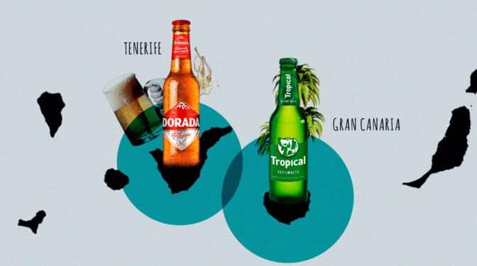 Tropical vs. Dorada, el derbi canario de la cerveza que no sale en los rankings