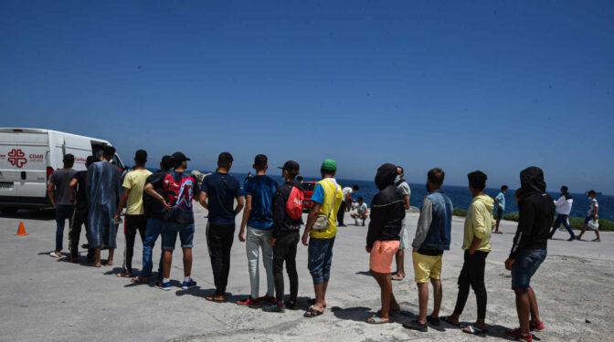 Migrantes en el limbo de Ceuta