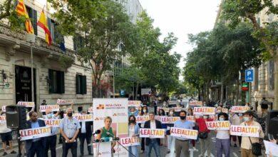 Los constitucionalistas catalanes reclaman ser escuchados sobre los indultos
