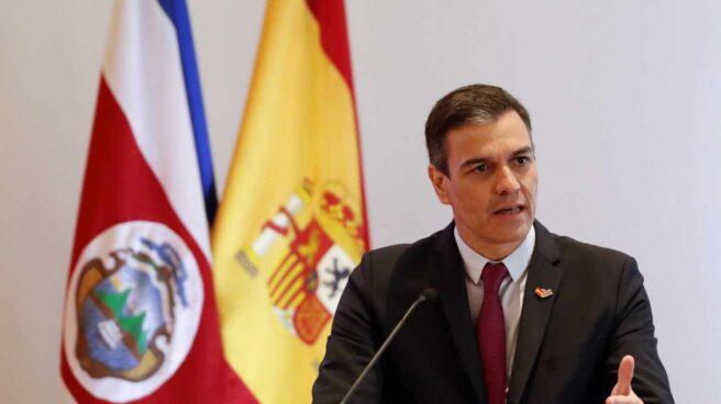 Pedro Sánchez, en Costa Rica.