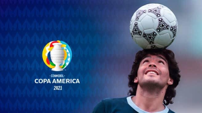 Homenaje a Diego Armando Maradona en la Copa América.