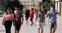 La Comunidad Valenciana recomienda seguir usando mascarilla en exteriores