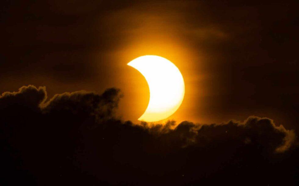 En Nueva York fue un eclipse parcial