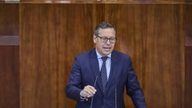 """Alfonso Serrano: """"No tenemos ningún problema en llegar a acuerdos con Vox y no vamos a aceptar lecciones del PSOE"""""""