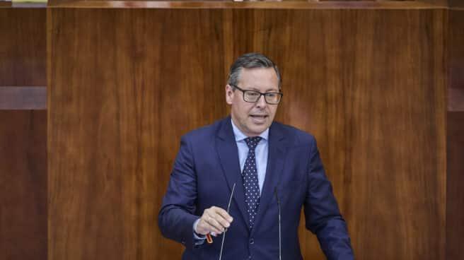 El portavoz del PP en la Asamblea de Madrid, Alfonso Serrano.