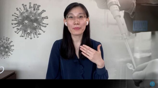 LI-Meng Yan, la viróloga que huyó de China por su teoría sobre el origen del Covid-19, en conversación con El Independiente.
