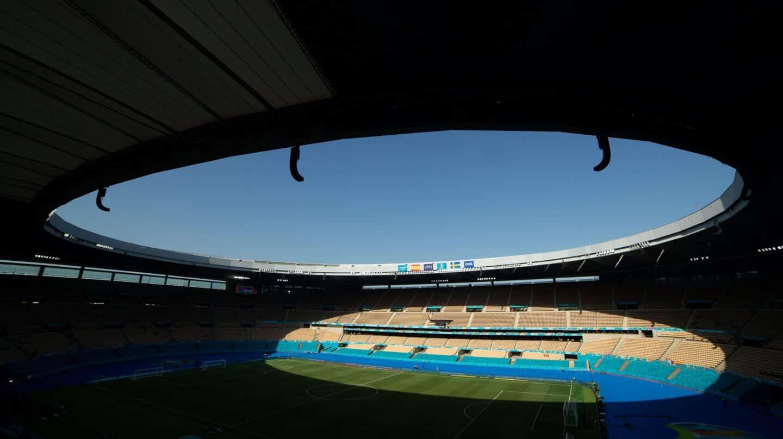 Estadio sevillano de La Cartuja, una de las sedes de la fase de grupos de la Eurocopa 2020.