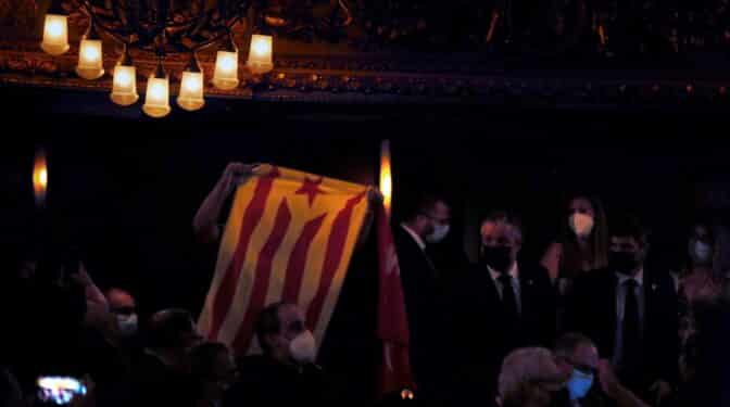 Los 'espontáneos' del acto de Sánchez entraron con invitaciones enviadas a la CUP