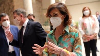 """Carmen Calvo no descarta aprobar los indultos la primera semana de julio """"o antes"""""""