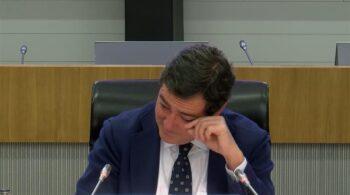 Garamendi recibe entre lágrimas el aplauso de la cúpula de CEOE tras la polémica de los indultos