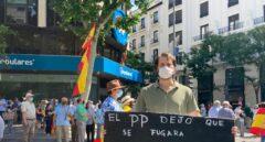VÍDEO | Incidente en Génova con manifestantes que boicoteaban el discurso de Pablo Casado