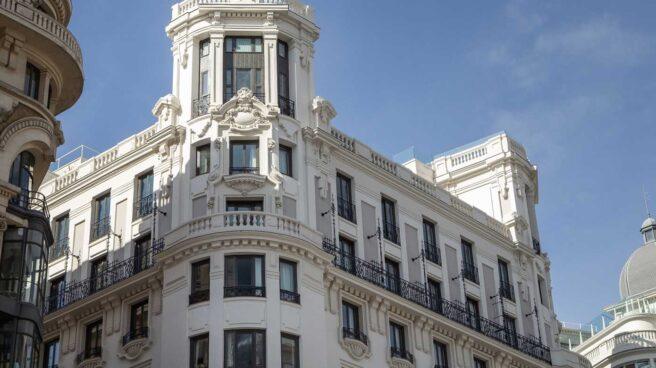 El hotel Pestana CR7 en Gran Vía (Madrid)