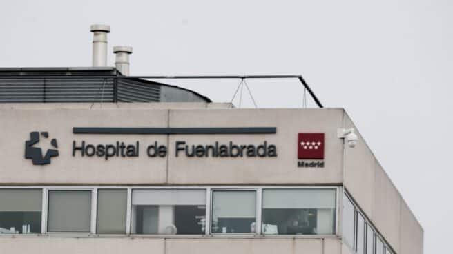 Fachada del Hospital de Fuenlabrada.