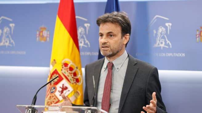 El portavoz de Podemos, Jaume Asens.