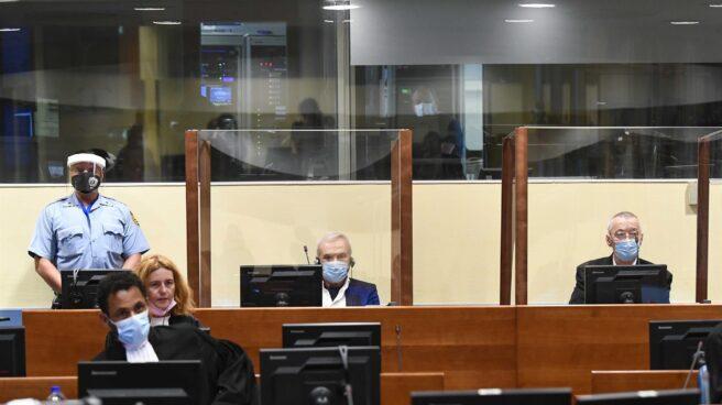 Jovica Stanisic y Franko Simativic, ante el Tribunal Penal Internacional de La Haya.