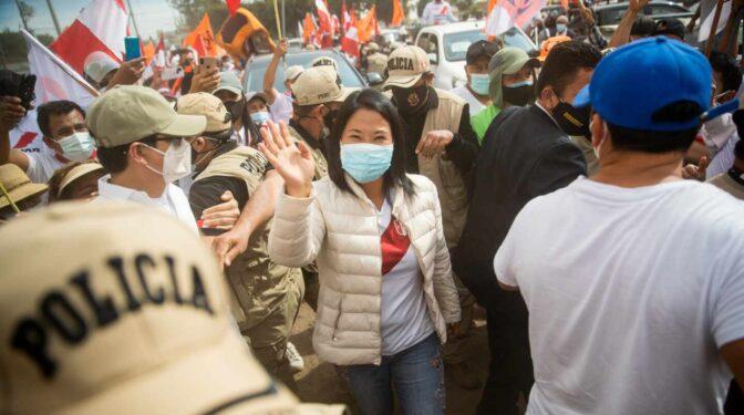 Keiko Fujimori se resiste a aceptar la derrota y pide anular 500.000 votos