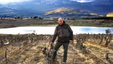 El bodeguero que encontró el mar en La Rioja alavesa
