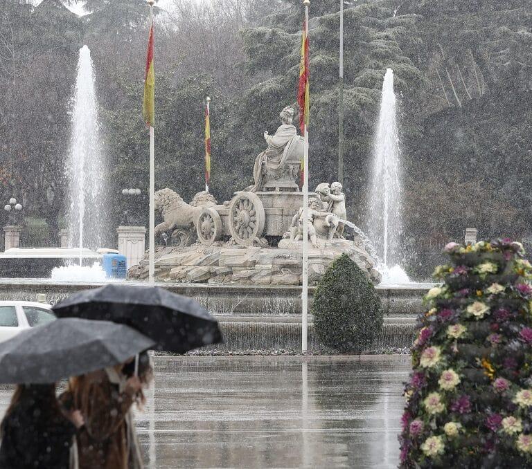 La tormenta de ayer fue la más intensa en Madrid desde 1947