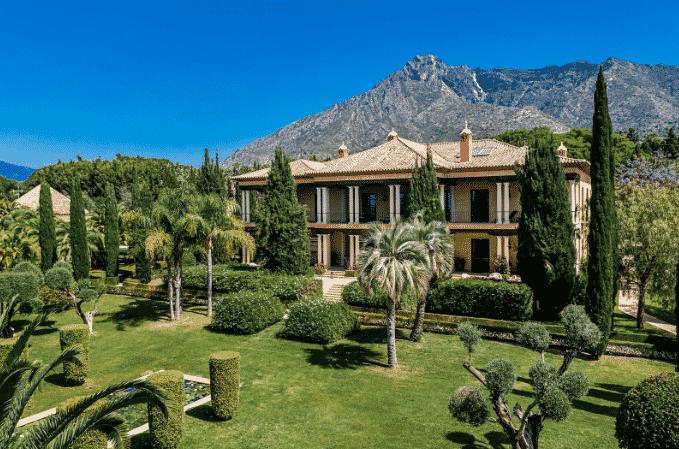 Mansión de la eterna elegancia en Marbella