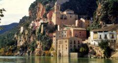 El Ebro a su paso por Miravet.