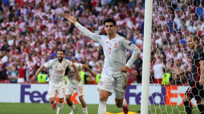 España gana a Croacia 5-3 en la prórroga y avanza a los cuartos de la Eurocopa