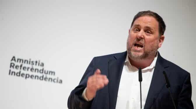 """Junqueras (ERC) insta a trabajar de forma """"franca y clara"""" en la mesa de diálogo aunque reconoce escepticismo"""