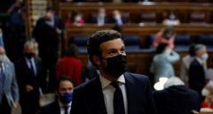 """Casado responde a Sánchez: """"Dimita y convoque elecciones. Sólo así podrá indultarle la historia"""""""