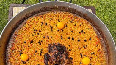 La paella con yemas y pollo a la brasa más polémica de Dabiz Muñoz