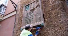 José María Pemán desaparece de la calle Isabel La Católica de Cádiz