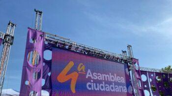 """Asamblea de Podemos: abucheos al crítico Fernando Barredo por denunciar la """"cacicada"""" de la dirección"""