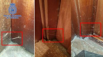Si encuentras esto en la puerta de tu casa, llama a la Policía: puede estar marcada por los ladrones
