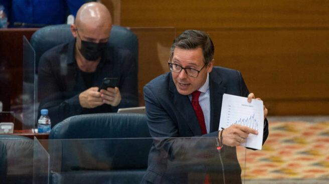 El diputado del PP en la Asamblea, Alfonso Serrano.